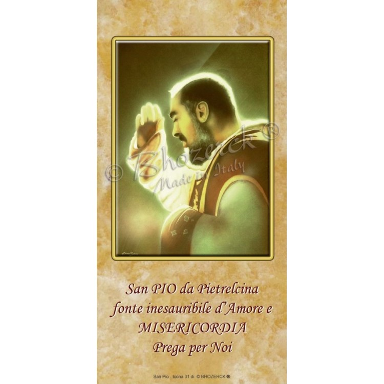 Benedizioni Famiglie - San Padre Pio da Pietrelcina
