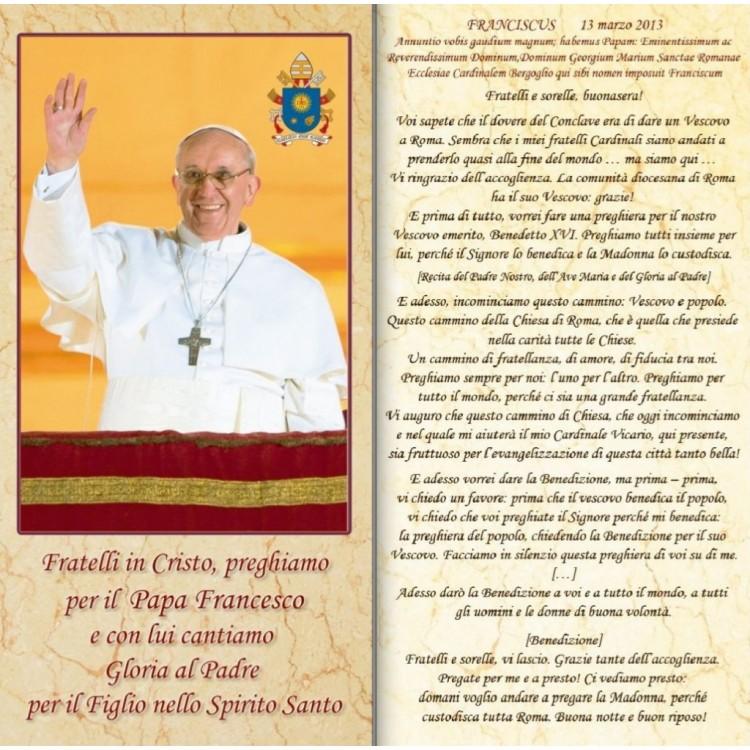 Benedizioni Famiglie - Papa Francesco