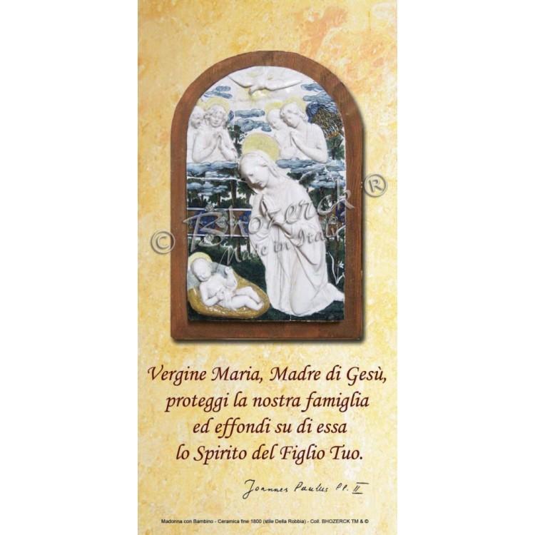 Benedizioni Famiglie - Madonna con Bambino