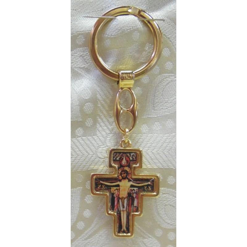 Portachiavi Croce San Damiano