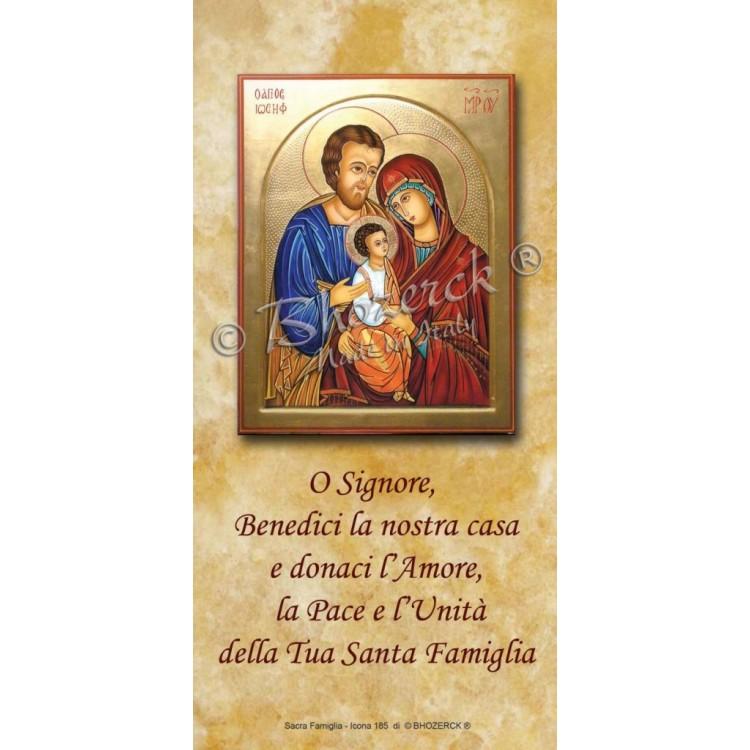 Benedizioni Famiglie - La Sacra Famiglia