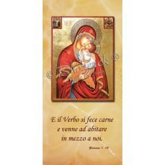 Benedizioni Famiglie - La Madonna  di Sclavons