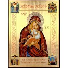 La Madonna dell'Incarnazione con scene