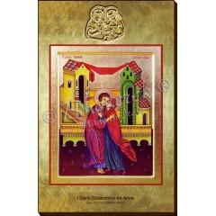 L' Abbraccio Nuziale di Sant' Anna e Gioacchino