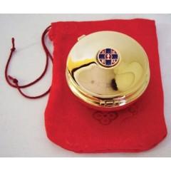 Scatola ø 6x3,6 cm. per 25 Particole o per Bomboniere