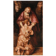 Copri Leggio con Madonna il Figliol Prodigo