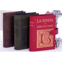 Copri BIBBIA in Vero Cuoio