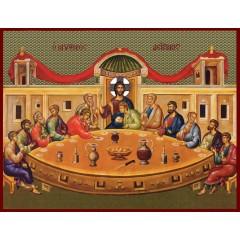 Icona delI' istituzione dell'Eucaristia
