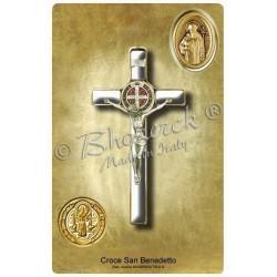 Adesivo - Croce di San benedetto