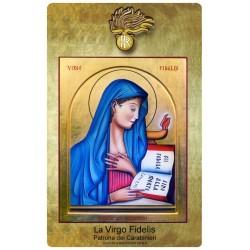 Adesivo - La Virgo Fidelis  (patrona dei Carabinieri)