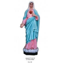 Sacro Cuore di Maria 130 cm.