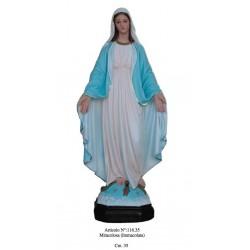 Madonna Miracolosa 35 cm.