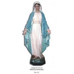 Madonna Miracolosa 112 cm.