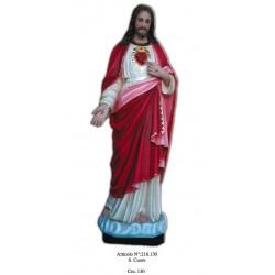 Sacro Cuore di Gesù 130 cm.
