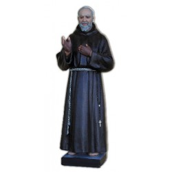 San Pio da Pietrelcina 110 cm.
