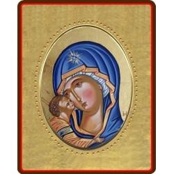 La Vergine della Tenerezza 8x10 cm.