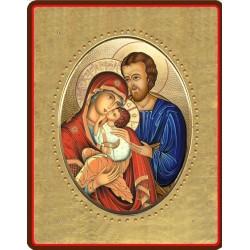 La Sacra Famiglia 8x10 cm.