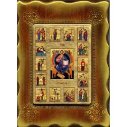 La Via Crucis 18x24 cm. mod. B