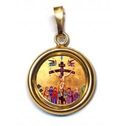 Gesù Misericordioso su Ciondolo in Argento 925°°° Lucido o Diamantato