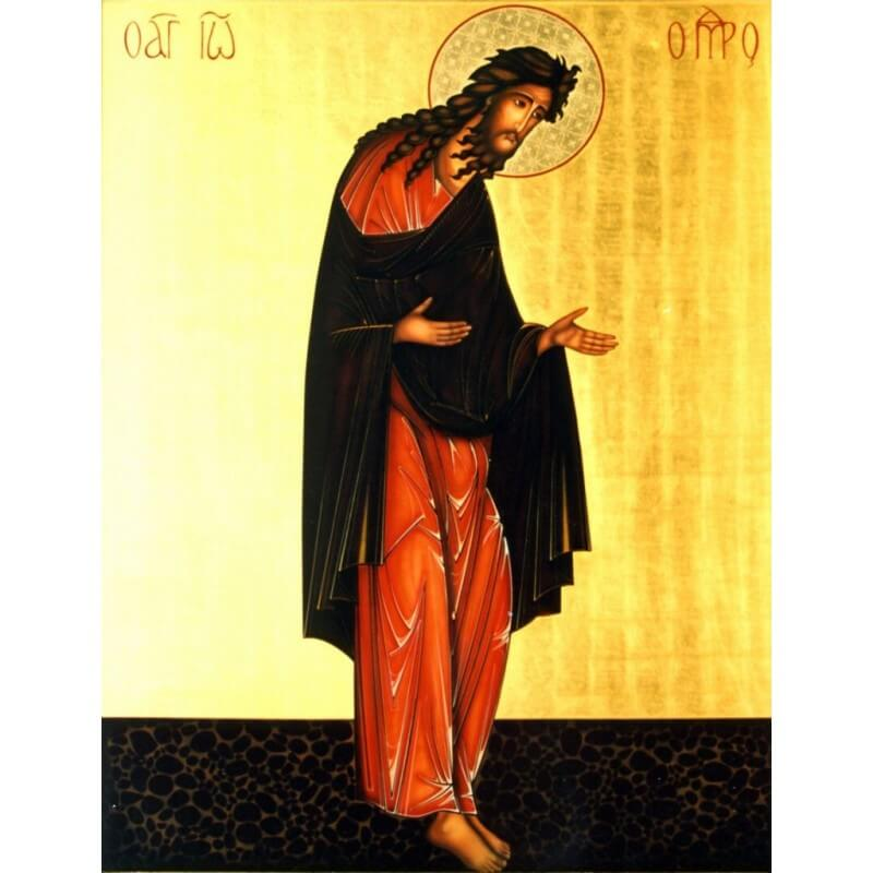 Icona San Giovanni Battista nella Deesis