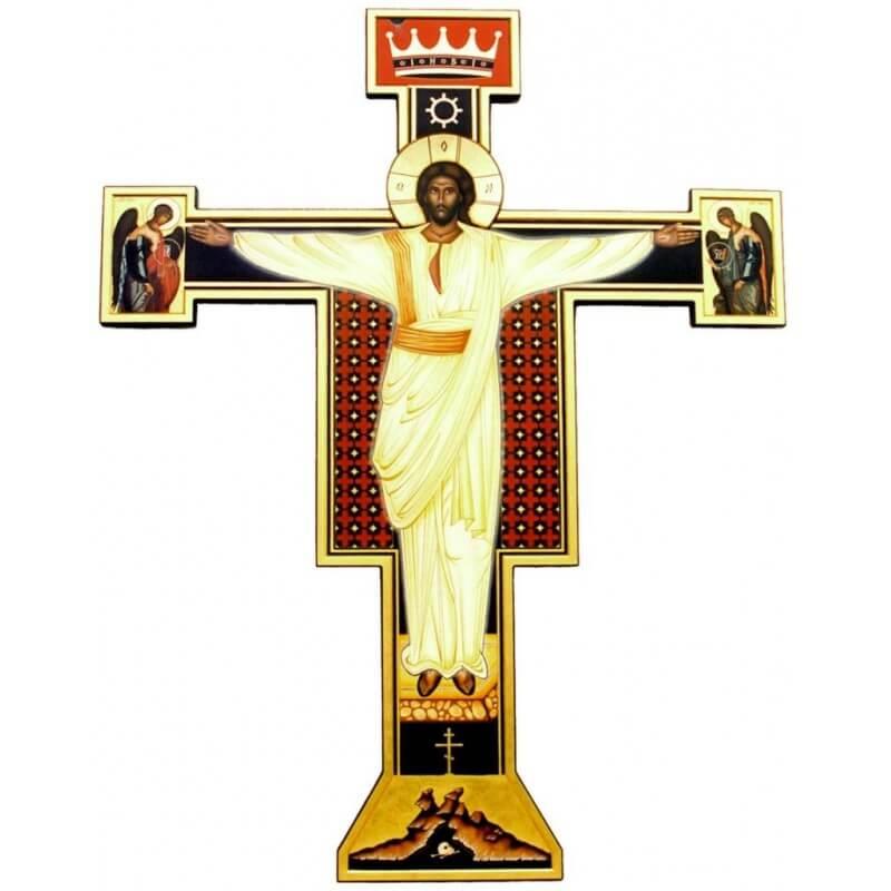 Icona di Cristo Sacerdote, Re e Profeta nella Deesis
