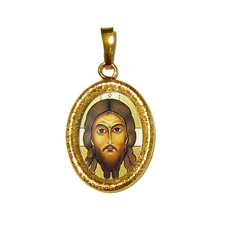 Il Santo Keramion su Ciondolo in Argento 925°°° Diamantato