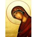 Icona di Maria nella Deesis