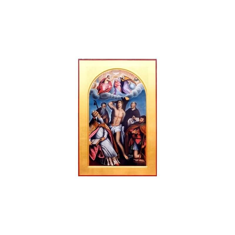 Icona dei Santi Fabiano e Sebastiano