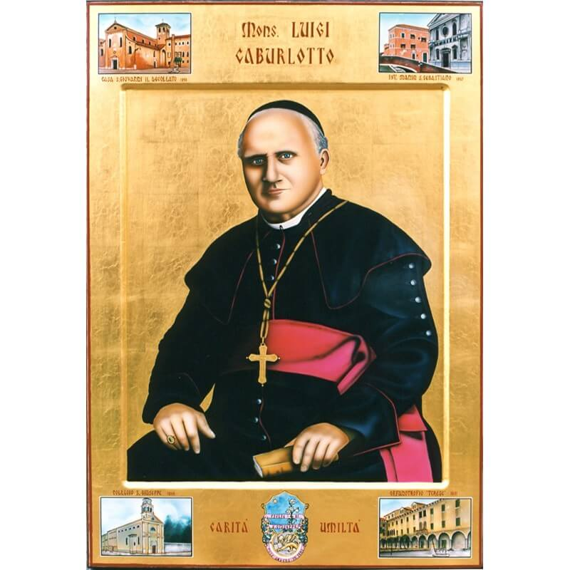 Icona di San Giuseppe Caburlotto