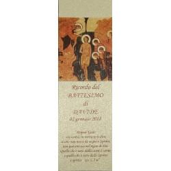 SEGNALIBRI 5x15 cm. carta Perlata