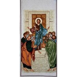 Copri Leggio con Cristo venne a porte chiuse