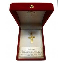 Croce TRADITIO (Piccola) in Oro 750°°°