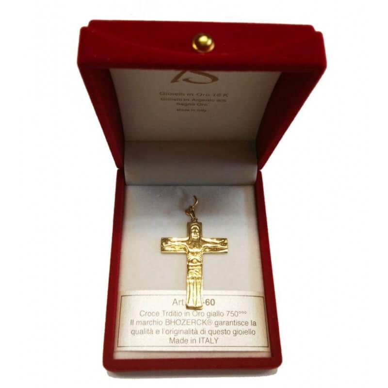 Croce TRADITIO (Grande) in Oro 750°°°