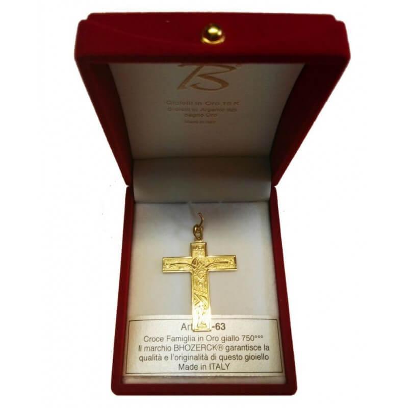 Croce FAMIGLIA (Grande) in Oro 750°°°