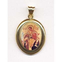 Sacra Famiglia in Oro 750°°° Lucido