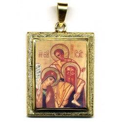 Sacra Famiglia in Oro 750°°°  Diamantato