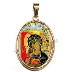 Madonna Terzo Millennio con Bordo Oro 750°°