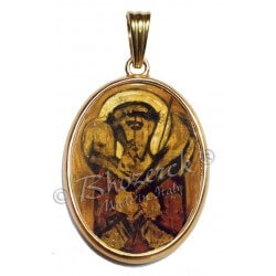 Il Buon Pastore con Bordo Oro 750°°