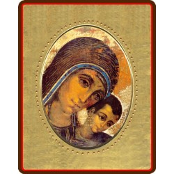 Madonna di Kiko 8x10x1,3 cm