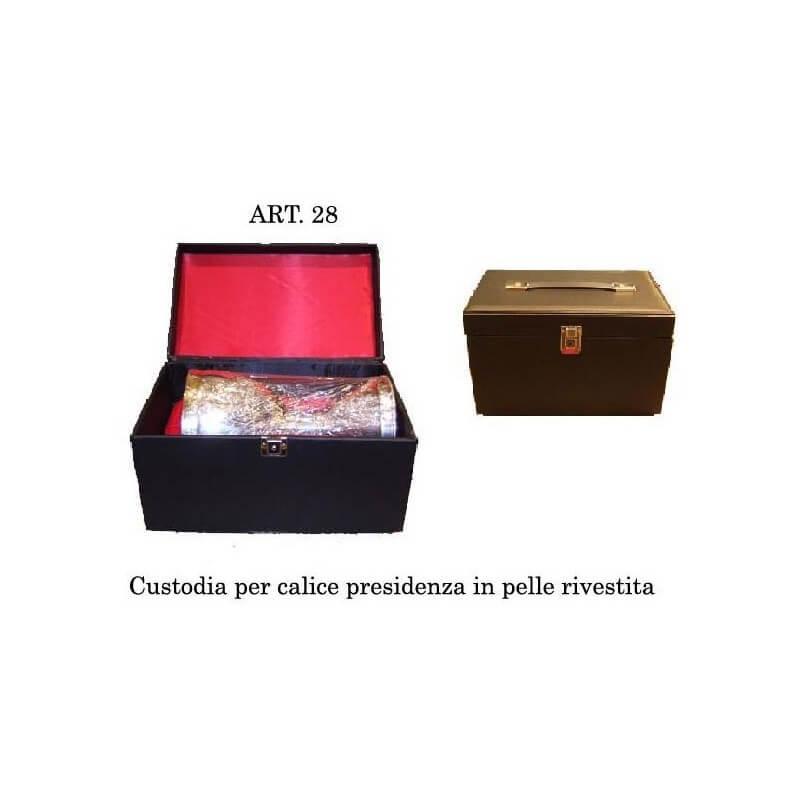 Custodia per Calice Presidenziale in Pelle