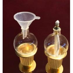 Imbuto di plastica per Globi-Ampolle