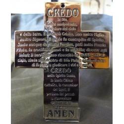 Croce con l'iscrizione del CREDO