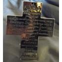 Croce cromata con l'iscrizione del ABBA'