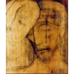 Icona del Buon Pastore 10 cm.