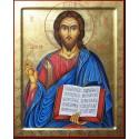 Icona del Cristo Pantocrator 10 cm.