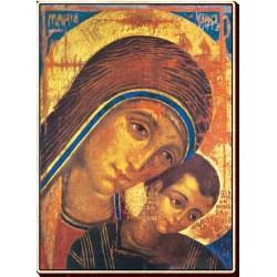 Icona Madonna del Cammino 11 cm.