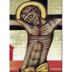 Icona Il Riposo di Cristo 11 cm.