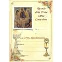 Pergamena In Ricordo della Prima Santa Comunione