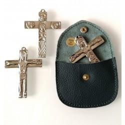 Croce Tasca Traditio Cromata con custodia