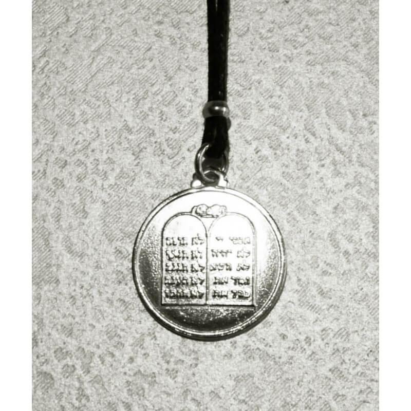 Collana Medaglia Tavole della Legge in Argento 925°°°